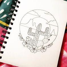 Doodles  #cactus #cacti #drawing #doodles #doodlesofinstagram  #bujo #bulletjournal #planner #bulletjournaladdict #bujoaddict