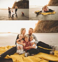 Book at a ruby beach family session in washington state by seattle family photographer fiona margo photography Beach Family Photos, Beach Pictures, Family Pictures, Oregon Beaches, Oregon Coast, Beach Sessions, Photo Sessions, Family Posing, Family Portraits