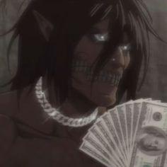 Me Anime, Otaku Anime, Anime Guys, Anime Couples Manga, S4 Wallpaper, Aot Funny, Eren Aot, Attack On Titan Meme, Black Anime Characters