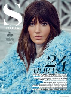Rock Affaire–The gorgeous Lily Aldridge stars in the November 8th, 2014, cover story from Spanish weekly S Moda. The Victoria's Secret hottie channels seventies style in these images captured by David Roemer of Atelier Management. Styled by fashion director Chabela Garcia, Lily wears luxe furs, printed separates and autumn boot styles. Keith Carpetener created her …