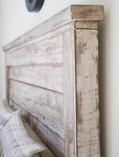 How To Make A DIY Antique Headboard