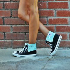 (already in the closet! Sparkly Converse, Colored Converse, Cute Converse, Converse Sneakers, Converse All Star, Converse High, High Top Tennis Shoes, High Top Sneakers, Cute Heels