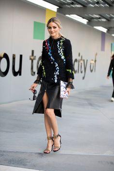 ファッションウィーク2017春夏にみる「やっぱりステキ❤」オリヴィアのフェミニンルック   Spark GINGER