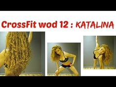KATALINA WOD 12 : CrossFit Challenge: 3 Pyramids For Cellulite Thighs&Butt, Arms, Cardio & Strength - YouTube
