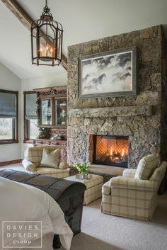 Davies Design Group - Mountain Ranch Master Bedroom Ranch, Master Bedroom, Mountain, Group, Design, Home Decor, Guest Ranch, Master Suite, Room Decor
