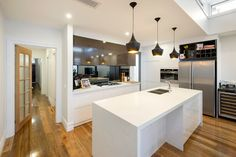 Kitchen extension with natural lighting.  Home Extension Builders. Balwyn, Melbourne