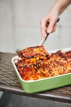 Vega rakott padlizsán Vegetarian Recepies, Healthy Recipes, Vegas, Eggplant, Lasagna, Healthy Life, Macaroni And Cheese, Paleo, Food And Drink