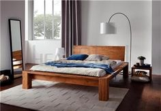 Hasena Cobo Cortina Sion Solid Oak Bed - Head2Bed UK Solid Oak Beds, Contemporary Bedroom Furniture, Bed Design, Decoration, Couch, Modern, Home Decor, Products, Contemporary Bedding