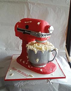 KitchenAid cake by Galyna Harb(Baking Treats Mom)