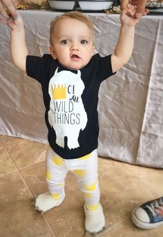 Find out how to make your own DIY Where The Wild Things Are first birthday party for your wild one! +DIY king of all wild things outfit!