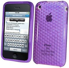 Apple IPhone 3GS Hydro Gel Case - Purple