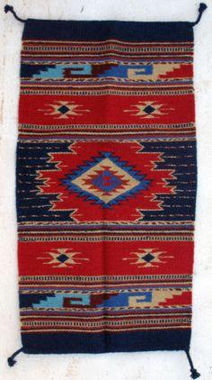 Wool Rug HIM40 406 Hand Woven Southwest Southwestern Area Rug 20 x 40 | eBay_$36.79