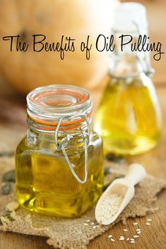 The Benefits of Oil Pulling and a How To via DeliciouslyOrganic.net