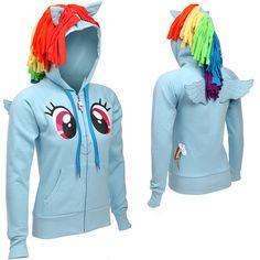 chaqueta de rainbow dash