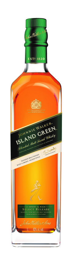 Diageo Global Travel and Middle East (GTME) have launched the first ever, travel retail exclusive blended malt scotch whisky - Johnnie Walker® Island Green