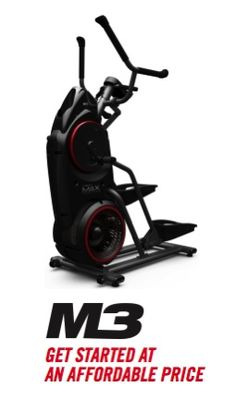 You can get all the burn on the Bowflex M3 streamlined trainer by Bowflex.The MAX Trainer M3 delivers the breakthrough 14-minute MAX Traine...