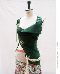 Galliano Pirate Jacket.  Pattern available for download - not for beginning sewists.  One size only.