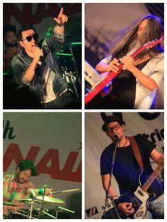 When Naif on Plancious 2013! David Jarwo Pepeng Emil bermain bersama didalam satu band! #semaranggigs