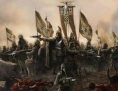 When Krieg officially back in the fold of the Imperium in 949.M40, the event met with no fanfare and festivities, but mighty leviathan Departmento Munitorum drew his attention here, for Krieg in arrears, so that peace was imposed new quotas on people for the Imperial Guard. Adeptus were amazed when rulers Krieg offered them not one, but twenty regiments for immediate occupancy, all trained, kitted out and led by commanders who demanded to send them to the most dangerous areas of fighting.