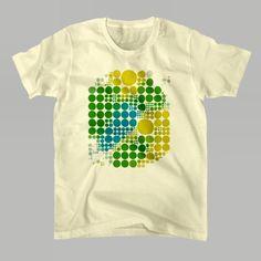 SUZURIで新しいTシャツを作りましたhttp://ift.tt/20yhPFF ブラジルカラーのドットです