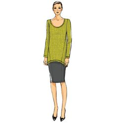 V8962 | Misses' Tunic, Skirt and Pants | View All | Vogue Patterns