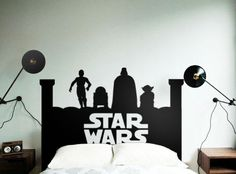 Star Wars Headboard - Beautiful Wall Decals