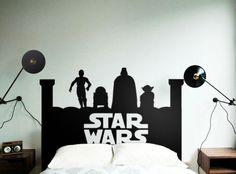 Star Wars Headboard - Beautiful Wall Decals