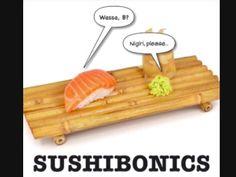 Sushi funny!
