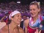 May, Walsh Tell Bob Costas What Their Futures Hold - Beach Volleyball Video   NBC Olympics