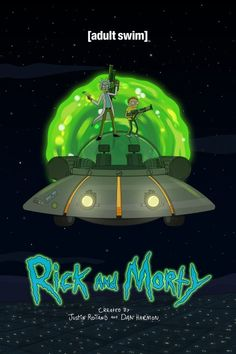 Rick and Morty poster on Behance Rick And Morty Image, Rick Und Morty, Photo Wall Collage, Picture Wall, Pintura Hippie, Rick And Morty Stickers, Rick And Morty Poster, Alien Art, Cartoon Crossovers