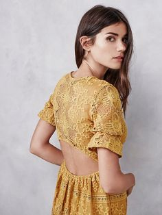 For Love & Lemons Sienna Maxi Dress at Free People Clothing Boutique
