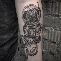 23 Loveable Pug Tattoos - Sortra