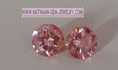 Loose Pink Color Moissanite Stones for Jewelry a cheap Alternative for Real Natural Diamond Stones available at Direct wholesale Factory prices from nathaan-gem-jewelery.com