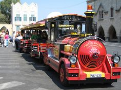 Rhodes Town 'road' train  - The Wally Trolly