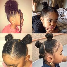 Mixed Baby Hairstyles, Black Girls Hairstyles, Boy Hairstyles, Natural Hairstyles For Kids, Trendy Hairstyles, Kid Braid Styles, Braids For Kids, Girls Braids, Princess Hairstyles