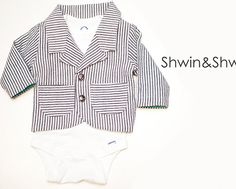 Baby Blazer Pattern size 3mo || Free PDF Pattern || Shwin&Shwin