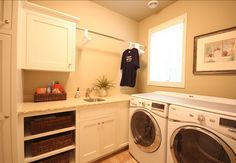 sewing room laundry room combination | LEED Coastal Cottage - Home Bunch - An Interior Design & Luxury Homes ...