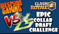 Today GAMESwithKRYPT and West Side Gaming have teamed up to bring you a collaboration, where we undergo the draft challenge. We both get to block one card fr. Clash Royale, West Side, Collaboration, Gaming, Challenges, Cards, Videogames, Game, Maps