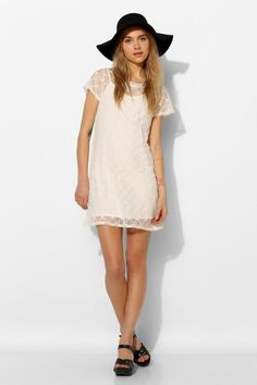 Pins And Needles Lace Tee Dress