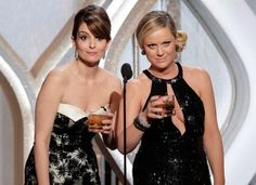 YES! Tina and Amy: You'll need gala dresses and whiskey in lowball glasses. And some golden globe award trophies.