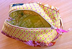 Knitting project bag tutorial