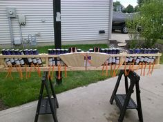 2014 Country Heritage Winery  Mine rack for opener..