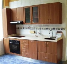 Designing a minimalist kitchen can be the most challenging of all, as you have so many factors considering and not a lot of room. Kitchen Design Small, Kitchen Cabinet Design, Diy Kitchen Storage, Kitchen Decor, Kitchen Furniture Design, Home Kitchens, Modern Kitchen Design, Minimalist Kitchen, Kitchen Design