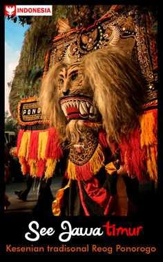 Download Reog Ponorogo wallpapers to your cell phone - indonesia