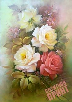 (4) Gallery.ru / Артикул: П227 - Розы - pozitiffprint