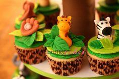 Jungle/Sports Cupcakes