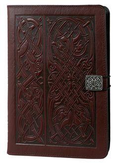 Celtic Design Leather iPad Mini Cover