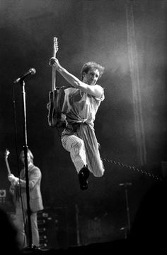 Pete Townshend.  And he was in his 40s here, folks.  Google Image Result for http://natkin.net/wp-content/themes/blackcanvas_20/images/Pete%2520Townshend.jpg