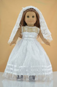 Hey, I found this really awesome Etsy listing at https://www.etsy.com/listing/160750037/18-american-girl-doll-clotheswhite-or