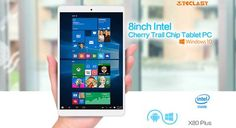 Teclast X80 Plus Tablet PC Windows 10 + Android 5.1  WHITE